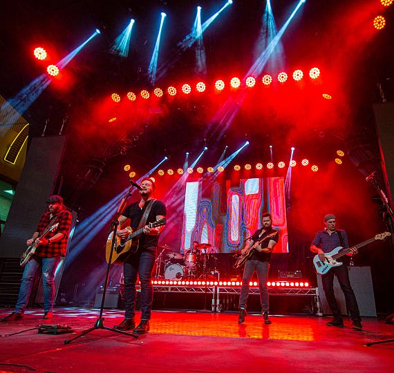 Eli Young Band takes over 3rd Street Stage at Fremont Street Experience during Downtown Rocks