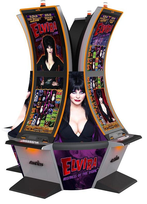 Elvira Mistress of the Dark slot game by Aristocrat