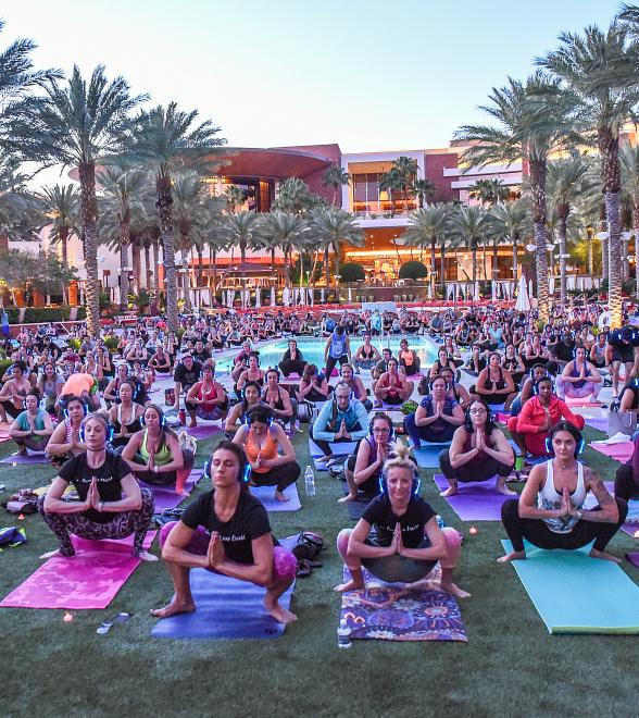 Silent Savasana Announces First-Ever 'Dray-Cation' Yoga Retreat with Dray Gardner at Red Rock Resort Aug. 17-20