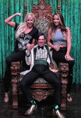WWE Divas Emma and Summer Rae Attend ABSINTHE at Caesars Palace Las Vegas
