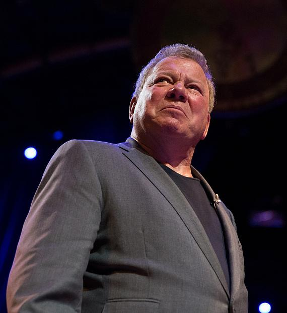 Emmy Award-winning actor William Shatner performs in fifth annual One Night for One Drop