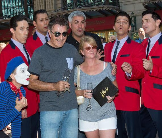 Taylor Hicks and Jersey Boys with winner Martin Layton