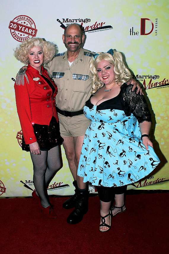 Eric and Jayne Post with cast member