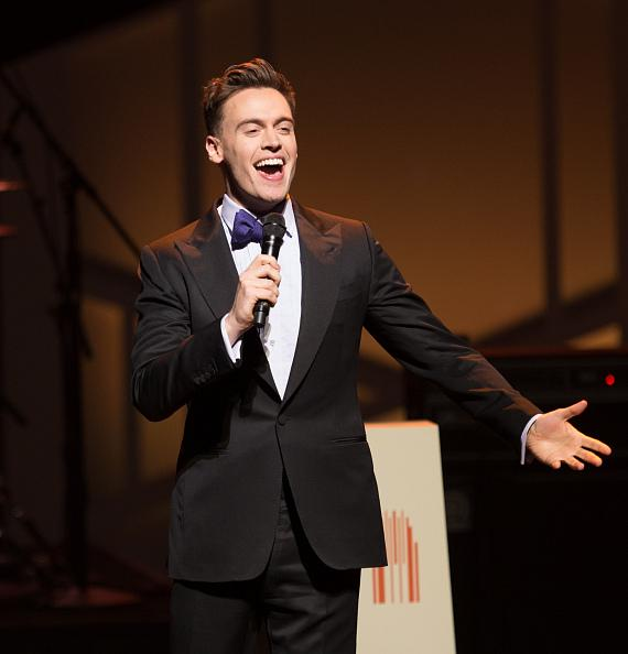 Erich Bergen hosts the second annual Heart of Education Awards, April 29, 2017