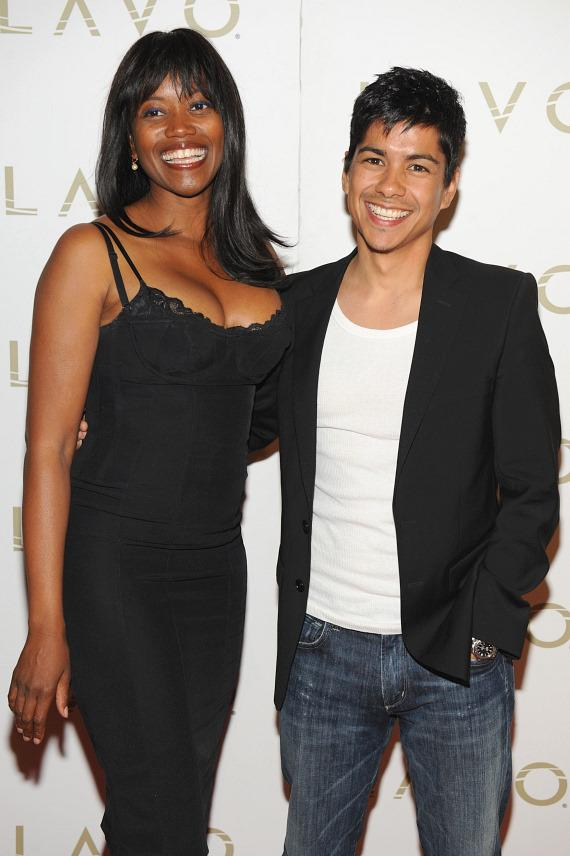 Erika Alexander and Jeremy Ray Valdez at LAVO