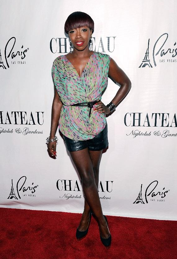 Estelle on the Chateau Red Carpet