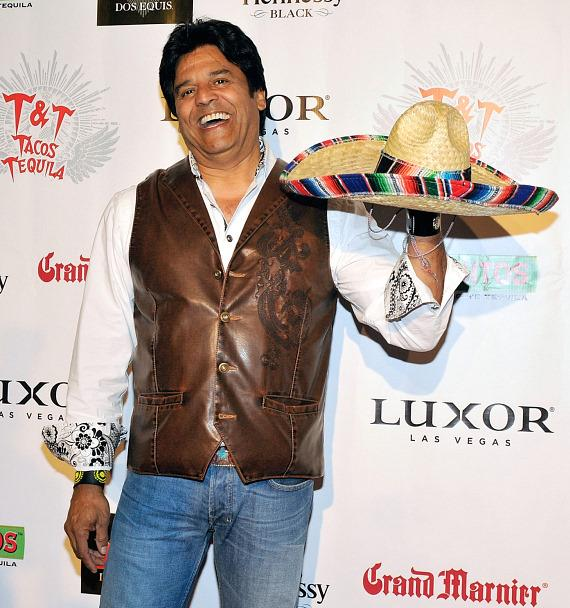 Erik Estrada with sombrero