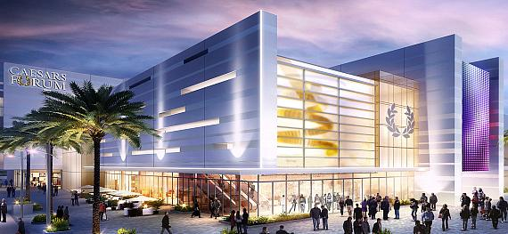Caesars Entertainment Breaks Ground on CAESARS FORUM a $375 Million Conference Center in Las Vegas