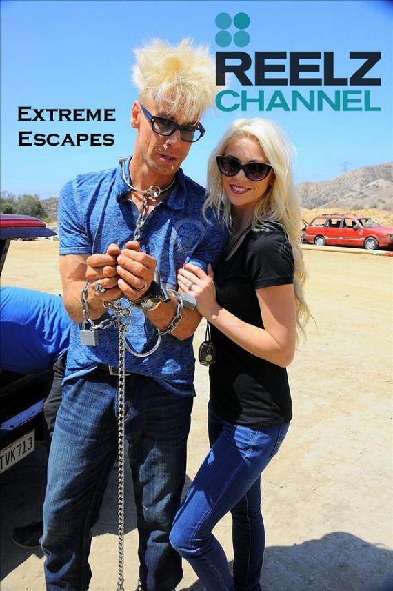 Murray SawChuck and Chloe Crawford on Extreme Escapes