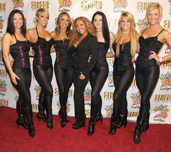 """The stunning cast of FANTASY attends """"Flair for the Cure"""""""