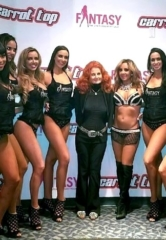 Legendary Burlesque Star Tempest Storm Attends FANTASY at Luxor Las Vegas