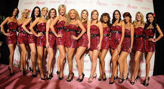 "FANTASY girls at ""Ultimate FANTASY"" calendar party"