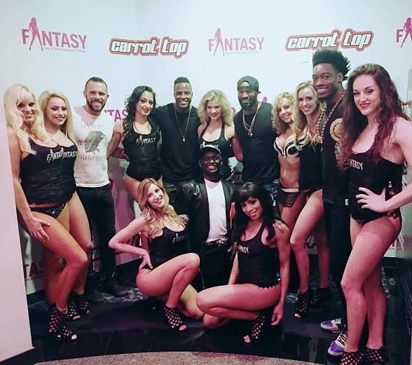 Tyson Beckford Attends FANTASY at Luxor Hotel and Casino in Las Vegas