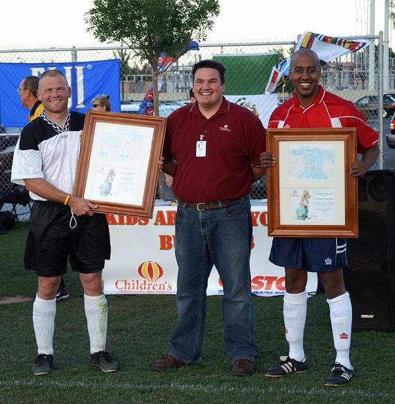 Kick It at The Guns'n'Hoses Police vs. Fire Benefit Soccer Game Sept. 5