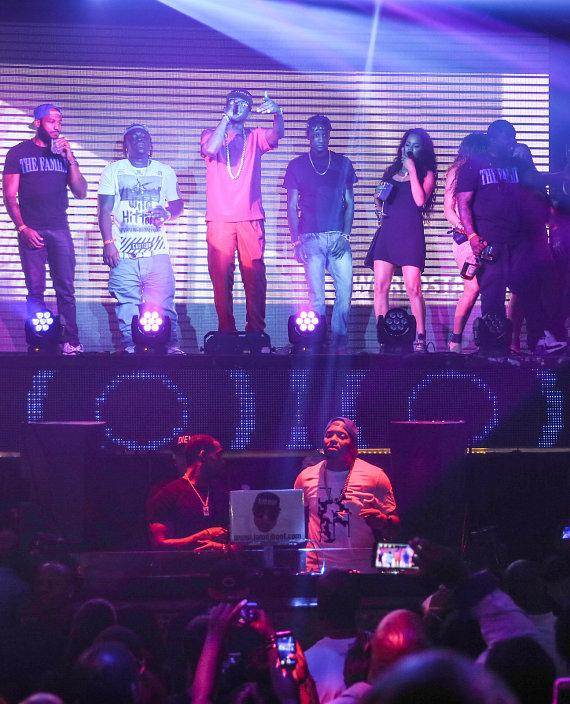 Fabolous Hosts The Money Team Pre-Fight Party at TAO