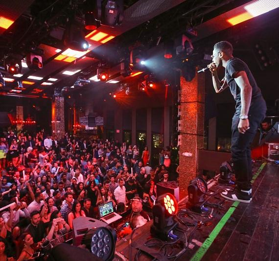 Fabolous performs at TAO
