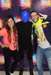 Actor Faisy spotted at Blue Man Group Las Vegas