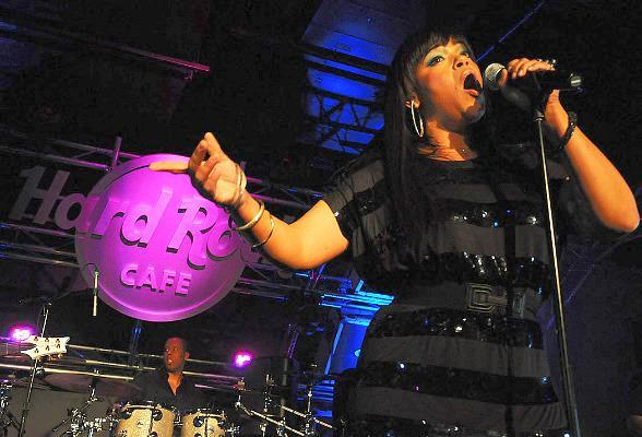Faith Evans performs midnight concert at Hard Rock Cafe