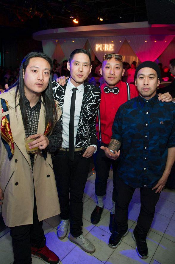 Far East Movement Gives High-Energy Performance at PURE Nightclub in Las Vegas