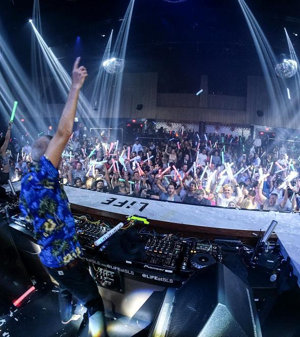 Capital Cities and Fatboy Slim at SLS Las Vegas
