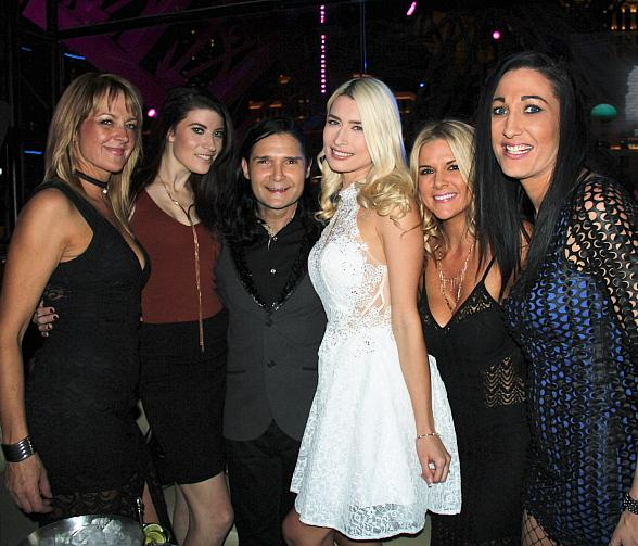 Actor Corey Feldman and Fiancée Courtney Anne host Bachelor and Bachelorette Party at Chateau Nightclub & Rooftop