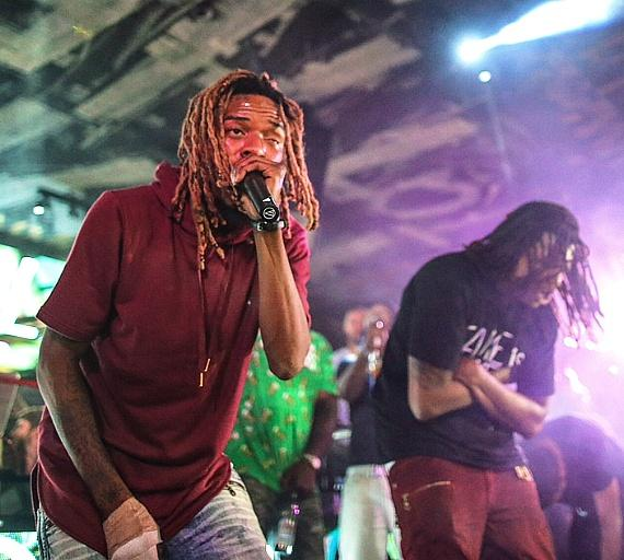 Fetty Wap delivers a special performance inside Foxtail Nightclub