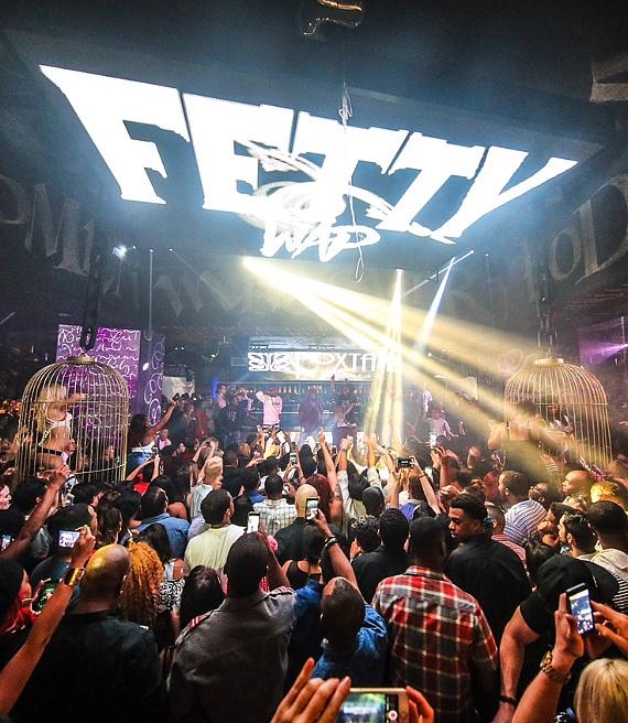 Fetty Wap performs to a sold-out crowd