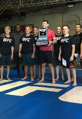 NCWTS Chase Drivers Throw Down at UFC Gym with Hall of Famer Forrest Griffin
