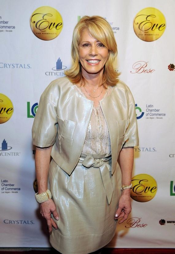 First Lady of Nevada Dawn Gibbons on red carpet at Eve