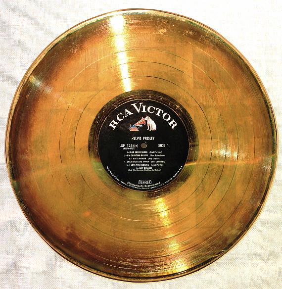 Elvis' First Gold Album