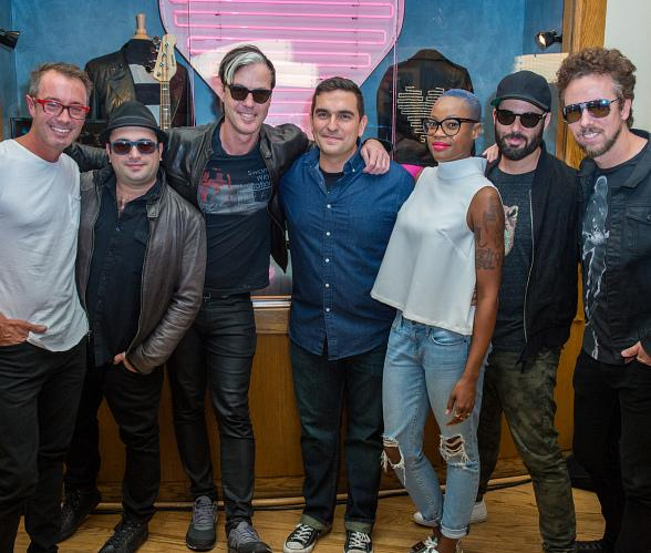 Fitz and The Tantrums Unveil Memorabilia Case at Hard Rock Hotel & Casino Las Vegas