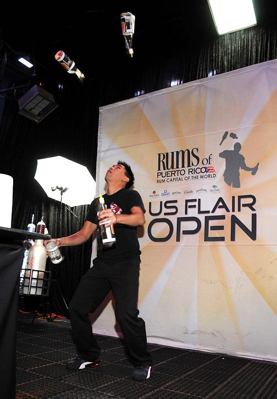 Bartenders compete in US Flair Open finals