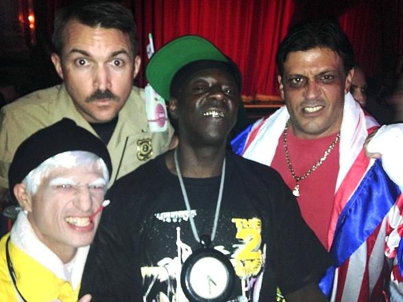 Flavor Flav Parties with OK! TV at Beacher's Madhouse in Las Vegas