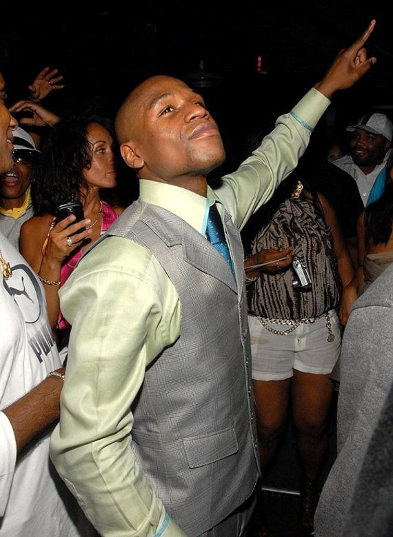 Floyd Mayweather at Studio 54 Las Vegas