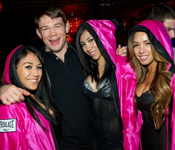 Forrest Griffin hosts Pre-Fight Party at LAVO Nightclub