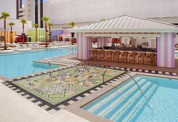 SLS Las Vegas Opens Foxtail Pool for Summer Season