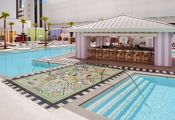 Foxtail Pool at SLS Las Vegas Now Offering Complimentary Saturday Fitness Classes