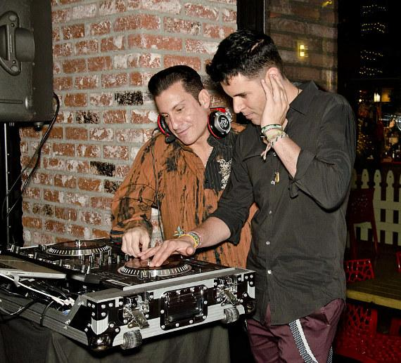 Frankie Moreno with DJ at the Meatball Spot
