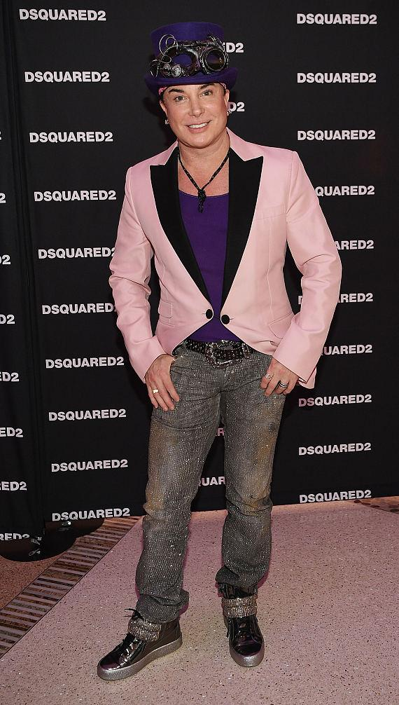 Frank Marino at DSQUARED2 Grand Opening