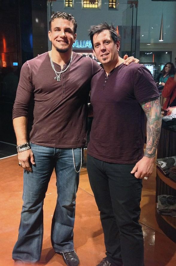 Frank Mir and Sean Dowdell