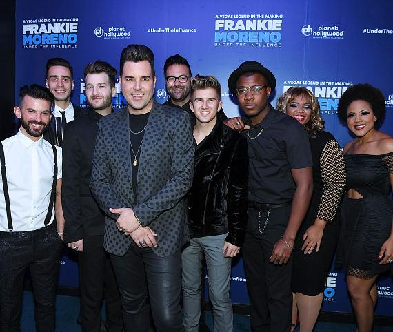 Frankie Moreno and Band at Opening Night of FRANKIE MORENO - UNDER THE INFLUENCE at Planet Hollywood Resort & Casino