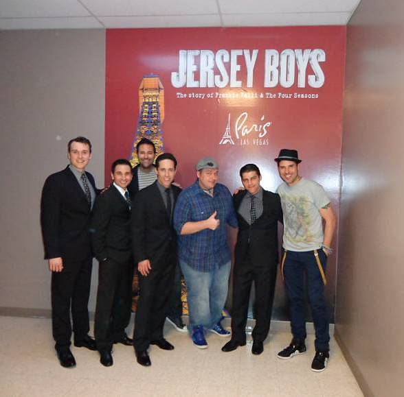 Las Vegas Headliner Frankie Moreno Attends JERSEY BOYS at Paris Las Vegas