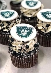 Score Sweetly this Football Season with Raiders-Themed Cupcakes at Freed's Bakery in Las Vegas
