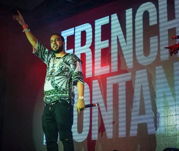 French Montana Performs at TAO