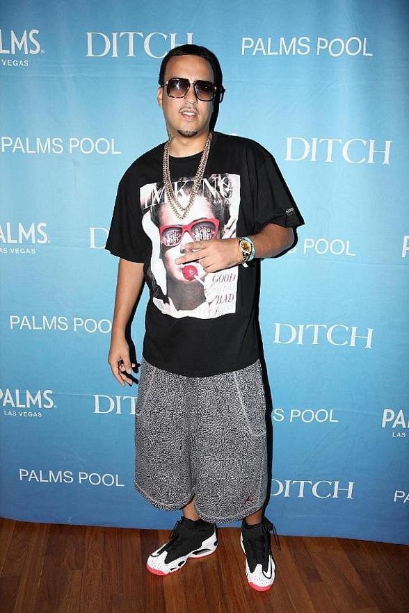 """French Montana Performs for """"Ditch Fridays"""" Partygoers at Palms Pool in Las Vegas"""