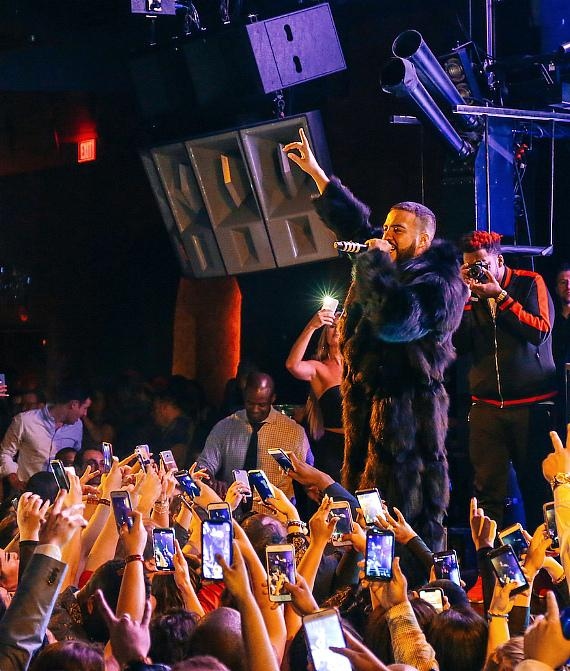 French Montana performs at Marquee Las Vegas