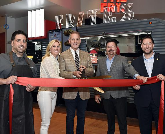 Frites Ribbon Cutting
