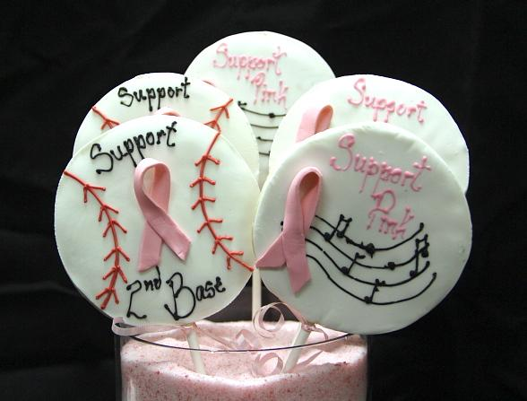Fuel Cafe Express Breast Cancer Awareness Cookies
