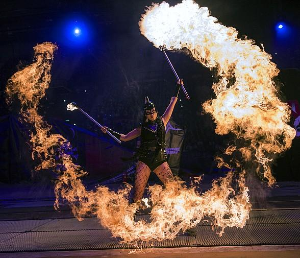 """Inferno – The Fire Spectacular"" Showtimes at Paris Las Vegas"