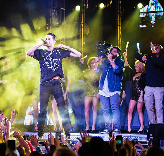 G-Eazy performs at Drai's Nightclub